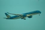 FRTさんが、タンソンニャット国際空港で撮影したベトナム航空 A350-941XWBの航空フォト(飛行機 写真・画像)