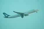 FRTさんが、タンソンニャット国際空港で撮影したキャセイパシフィック航空 A330-343Xの航空フォト(飛行機 写真・画像)