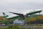 あしゅーさんが、福岡空港で撮影したエバー航空 777-35E/ERの航空フォト(飛行機 写真・画像)