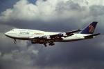 tassさんが、成田国際空港で撮影したエジプト航空 747-366Mの航空フォト(写真)