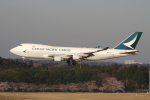 yabyanさんが、成田国際空港で撮影したキャセイパシフィック航空 747-467F/ER/SCDの航空フォト(飛行機 写真・画像)