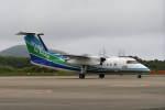 ohohoさんが、対馬空港で撮影したオリエンタルエアブリッジ DHC-8-201Q Dash 8の航空フォト(写真)