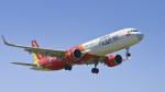 パンダさんが、成田国際空港で撮影したベトジェットエア A321-271Nの航空フォト(写真)