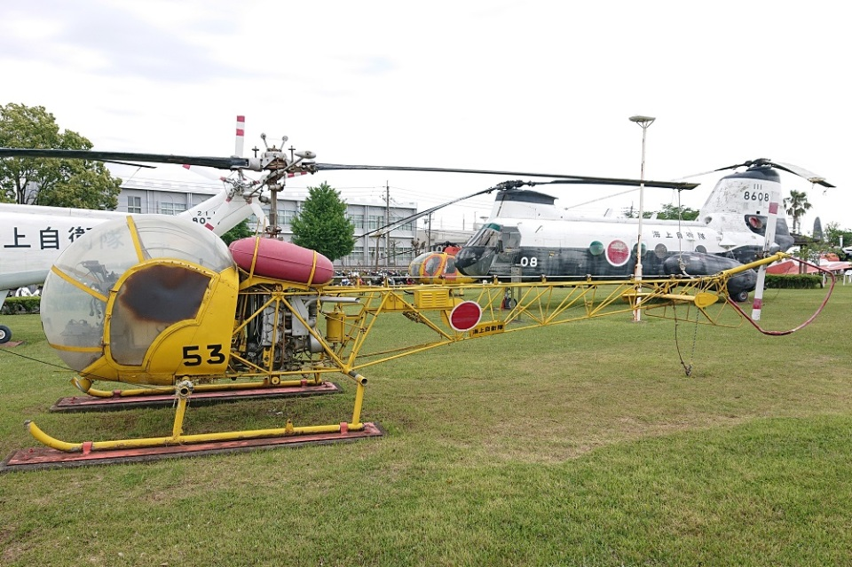 MOR1(用廃等専用アカウント)さんの海上自衛隊 Kawasaki Bell 47G (8753) 航空フォト