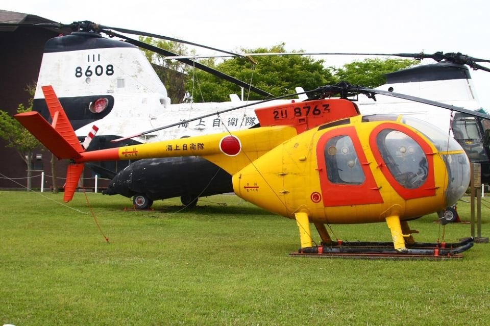 MOR1(用廃等専用アカウント)さんの海上自衛隊 Kawasaki OH-6J (8763) 航空フォト