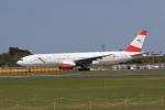 気分屋さんが、成田国際空港で撮影したオーストリア航空 777-2B8/ERの航空フォト(飛行機 写真・画像)