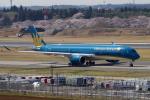 yabyanさんが、成田国際空港で撮影したベトナム航空 A350-941の航空フォト(飛行機 写真・画像)