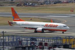yabyanさんが、成田国際空港で撮影したチェジュ航空 737-8ASの航空フォト(飛行機 写真・画像)