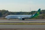 delawakaさんが、成田国際空港で撮影した春秋航空日本 737-81Dの航空フォト(飛行機 写真・画像)