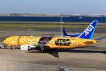 T.Sazenさんが、羽田空港で撮影した全日空 777-281/ERの航空フォト(写真)