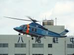 otromarkさんが、八尾空港で撮影した大阪府警察 AW139の航空フォト(写真)