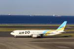 T.Sazenさんが、羽田空港で撮影したAIR DO 767-381/ERの航空フォト(飛行機 写真・画像)