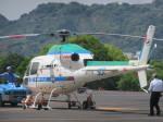 ランチパッドさんが、静岡ヘリポートで撮影した中日本航空 AS355Nの航空フォト(写真)