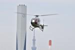 ヘリオスさんが、東京ヘリポートで撮影した日本個人所有 EC120B Colibriの航空フォト(写真)