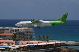 nobu2000さんが、プリンセス・ジュリアナ国際空港で撮影したエア・アンティル・エクスプレス ATR-72-600の航空フォト(飛行機 写真・画像)