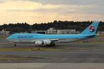 MA~RUさんが、成田国際空港で撮影した大韓航空 747-8B5の航空フォト(写真)