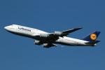 採れたてほしいもさんが、羽田空港で撮影したルフトハンザドイツ航空 747-830の航空フォト(飛行機 写真・画像)
