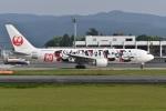 たっしーさんが、熊本空港で撮影した日本航空 767-346/ERの航空フォト(写真)
