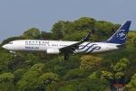 あしゅーさんが、福岡空港で撮影した大韓航空 737-8B5の航空フォト(飛行機 写真・画像)