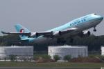 グリスさんが、成田国際空港で撮影した大韓航空 747-4B5の航空フォト(写真)