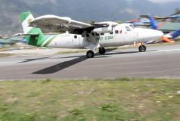 planetさんが、テンジン・ヒラリー空港で撮影したタラ・エア DHC-6 Twin Otterの航空フォト(飛行機 写真・画像)