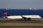 T.Sazenさんが、羽田空港で撮影したデルタ航空 A350-941XWBの航空フォト(写真)