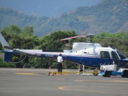 ランチパッドさんが、静岡ヘリポートで撮影した昭和リース AS350B3 Ecureuilの航空フォト(飛行機 写真・画像)