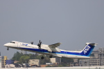Fly Yokotayaさんが、伊丹空港で撮影したANAウイングス DHC-8-402Q Dash 8の航空フォト(写真)