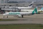 uhfxさんが、関西国際空港で撮影したエアソウル A321-231の航空フォト(飛行機 写真・画像)
