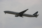 uhfxさんが、関西国際空港で撮影したキャセイパシフィック航空 777-367の航空フォト(飛行機 写真・画像)