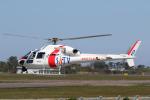 やまけんさんが、仙台空港で撮影した東邦航空 AS355Nの航空フォト(写真)