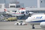 turenoアカクロさんが、高松空港で撮影した朝日新聞社 AW169の航空フォト(写真)