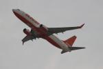 uhfxさんが、関西国際空港で撮影したチェジュ航空 737-8K5の航空フォト(飛行機 写真・画像)
