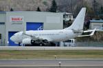 Dojalanaさんが、函館空港で撮影したアメリカ個人所有 737-7BC BBJの航空フォト(飛行機 写真・画像)