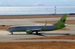 ハピネスさんが、関西国際空港で撮影したジンエアー 737-8B5の航空フォト(飛行機 写真・画像)