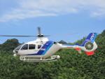 ランチパッドさんが、静岡ヘリポートで撮影したオールニッポンヘリコプター EC135T2の航空フォト(写真)