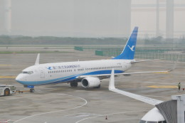 KKiSMさんが、南京禄口国際空港で撮影した厦門航空 737-85Cの航空フォト(飛行機 写真・画像)