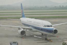 KKiSMさんが、南京禄口国際空港で撮影した中国南方航空 A320-232の航空フォト(飛行機 写真・画像)