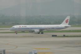 KKiSMさんが、南京禄口国際空港で撮影した中国国際航空 A321-213の航空フォト(飛行機 写真・画像)