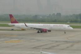 KKiSMさんが、南京禄口国際空港で撮影した吉祥航空 A321-211の航空フォト(飛行機 写真・画像)