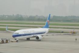 KKiSMさんが、南京禄口国際空港で撮影した中国南方航空 737-81Bの航空フォト(飛行機 写真・画像)