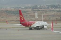 KKiSMさんが、昆明長水国際空港で撮影した昆明航空 737-8LYの航空フォト(飛行機 写真・画像)