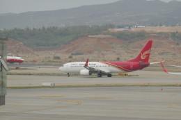 KKiSMさんが、昆明長水国際空港で撮影した昆明航空 737-87Lの航空フォト(飛行機 写真・画像)