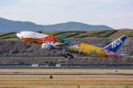 delawakaさんが、長崎空港で撮影した全日空 777-281/ERの航空フォト(写真)
