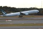 MA~RUさんが、成田国際空港で撮影したキャセイパシフィック航空 777-31Hの航空フォト(写真)