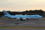 MA~RUさんが、成田国際空港で撮影した大韓航空 747-8B5F/SCDの航空フォト(飛行機 写真・画像)