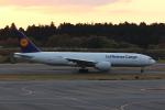 MA~RUさんが、成田国際空港で撮影したルフトハンザ・カーゴ 777-FBTの航空フォト(飛行機 写真・画像)