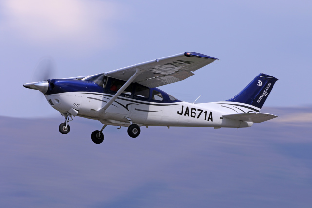 Assk5338さんが、松本空港で撮影した協同測量社 T206H Turbo Stationair TCの航空フォト(飛行機 写真・画像)