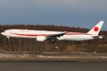 たみぃさんが、新千歳空港で撮影した航空自衛隊 777-3SB/ERの航空フォト(写真)
