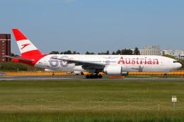たみぃさんが、成田国際空港で撮影したオーストリア航空 777-2Q8/ERの航空フォト(写真)